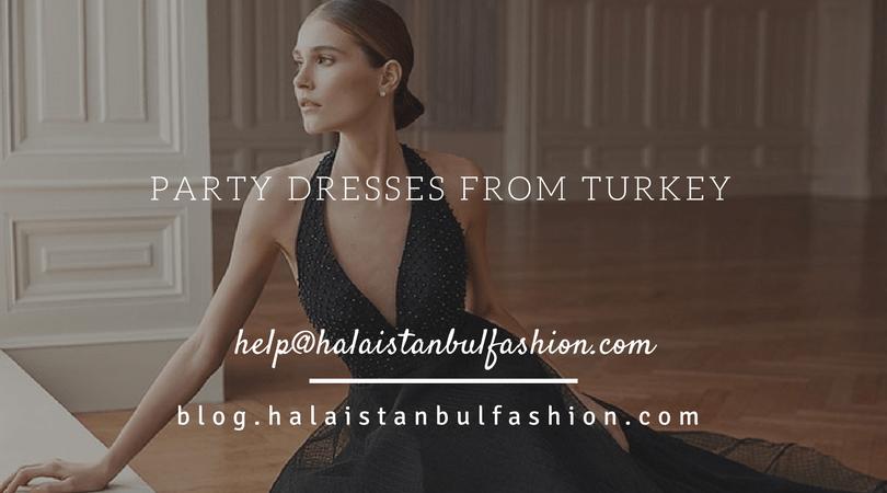 شراء فساتين سهرة من تركيا