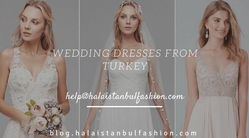 فساتين زفاف تركية فخمة مطرزة | أماكن الشراء في اسطنبول – تركيا،فساتين عرايس تركي للمحجبات ، أبيض – اوف وايت